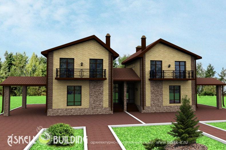 Дизайн проект жилого дома