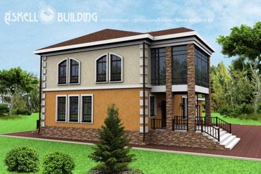 Бастион-257 / Проекты коттеджей от 200 м.кв. / Продажа проектов