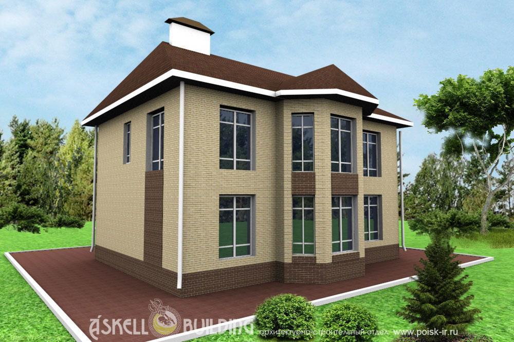 Проекты домов из пеноблока и газобетона