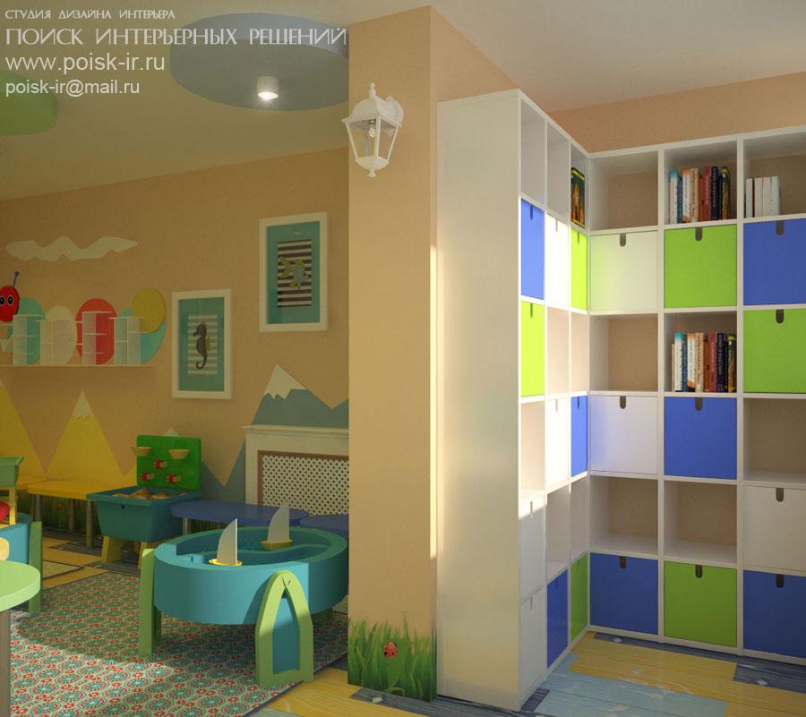 Фото интерьеров детских центров