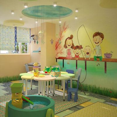 Дизайн детского развивающего центра