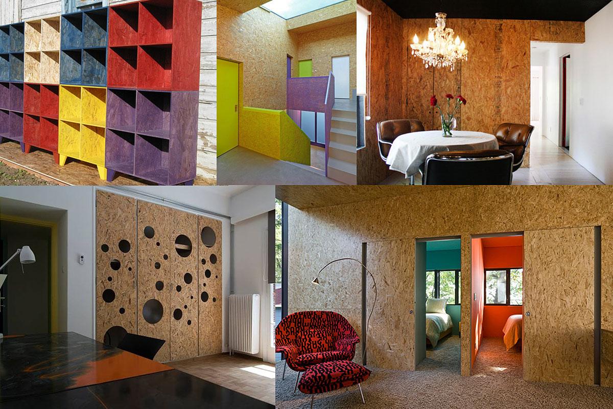 Osb for Aplicaciones de decoracion de interiores