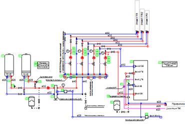 Схемы отопления воронеж