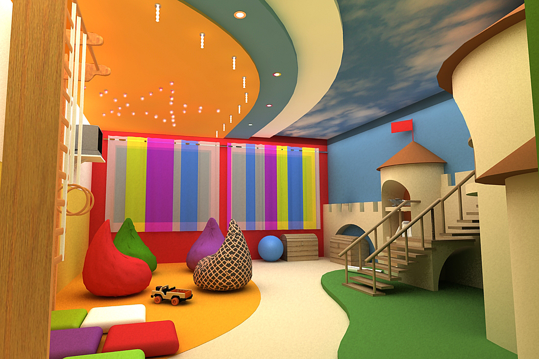 Дизайны детской игровой