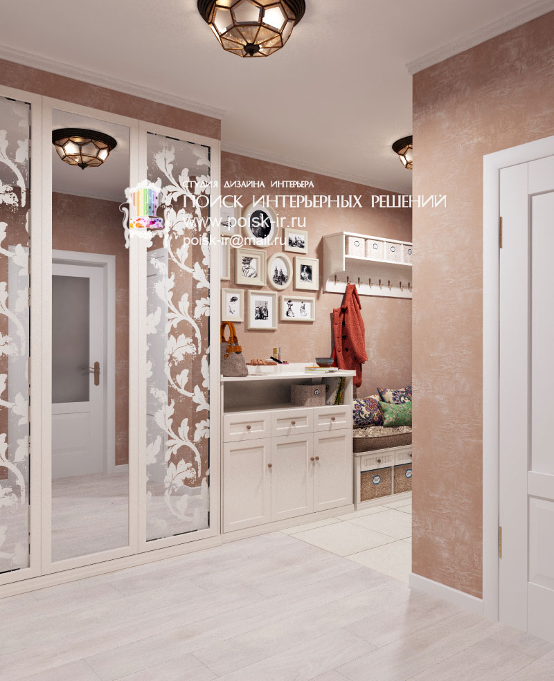 Светлый пол - дизайн интерьера холлов и коридоров проекты - .