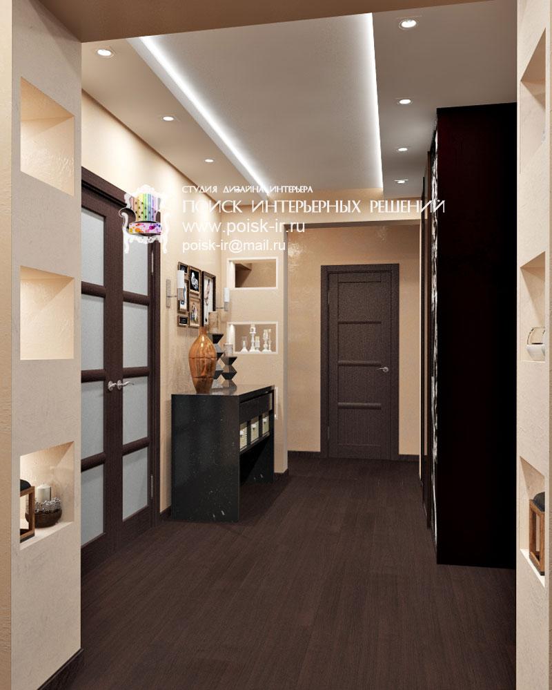 Дизайн потолков в коридоре фото 2016 современные идеи