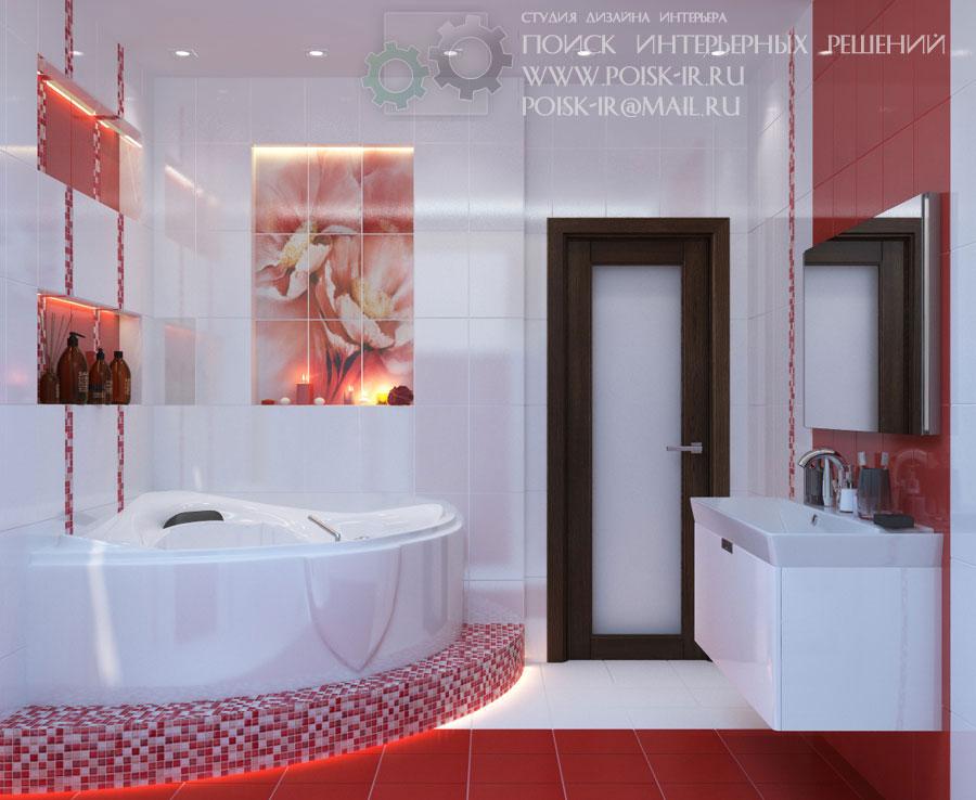 Смотреть дизайна ванной комнаты