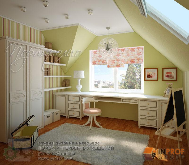Дизайн детских комнат и дизайн мансард