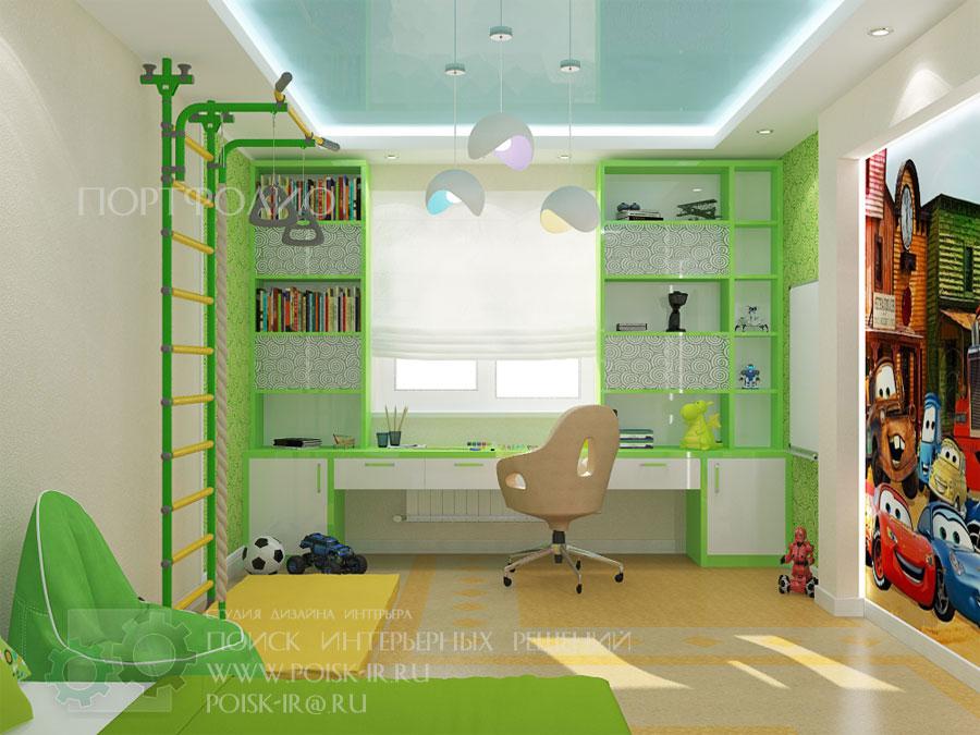 Дизайн проект детских столов