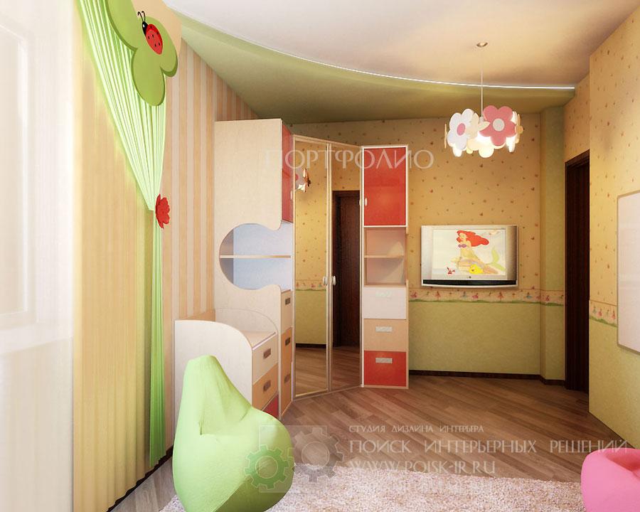 Тёмный пол - дизайн интерьера детских комнат - стр. 4 (Четве.