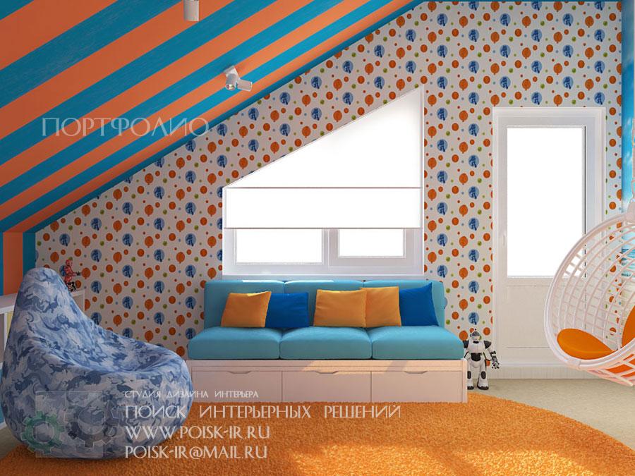 Дизайн комнат в разных стилях 3