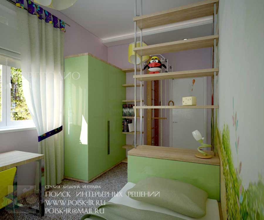 Дизайн комнаты с фресками
