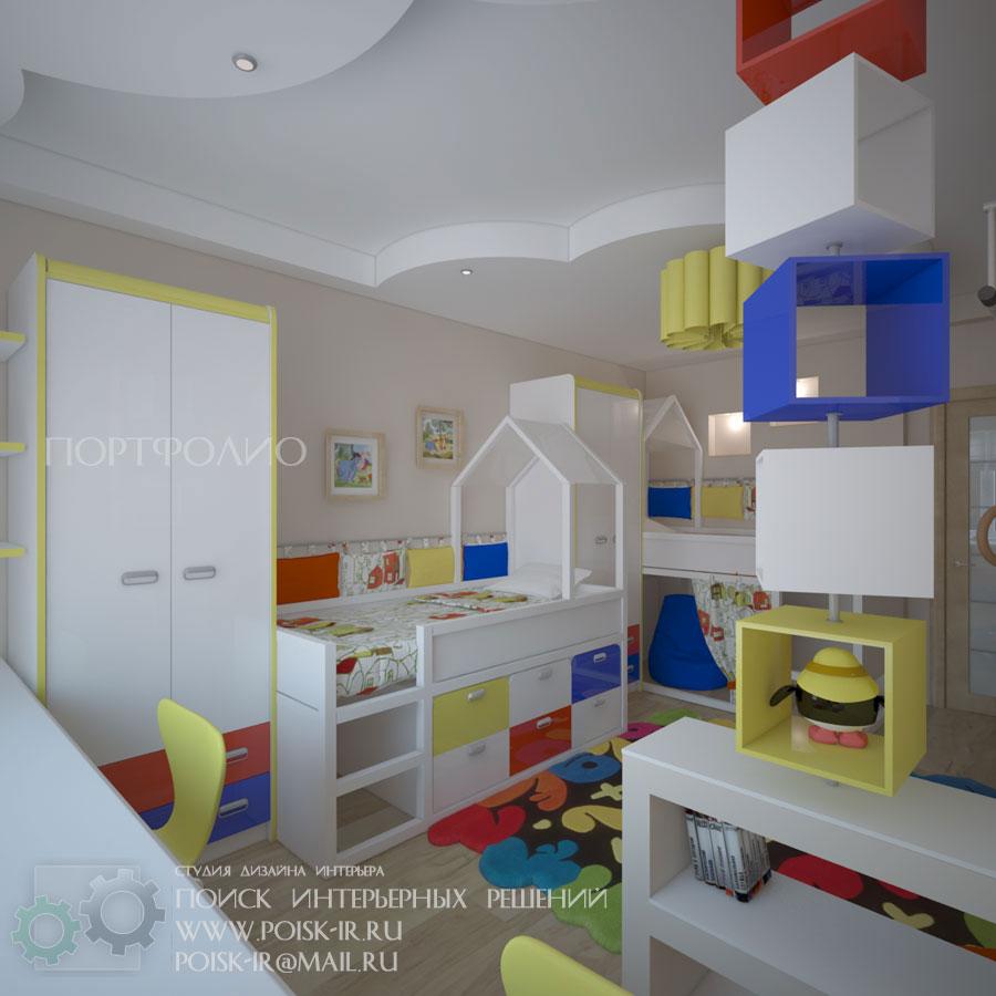 Эскизы интерьера комнаты в стиле шебби шик