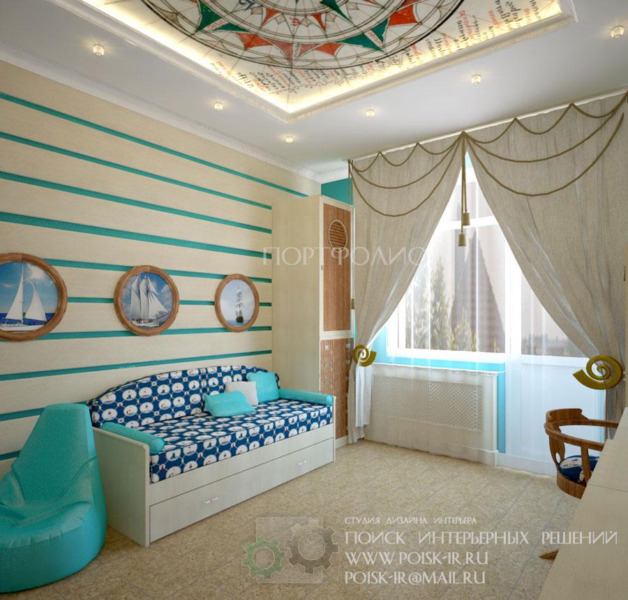 Современный дизайн детских комнат для мальчиков