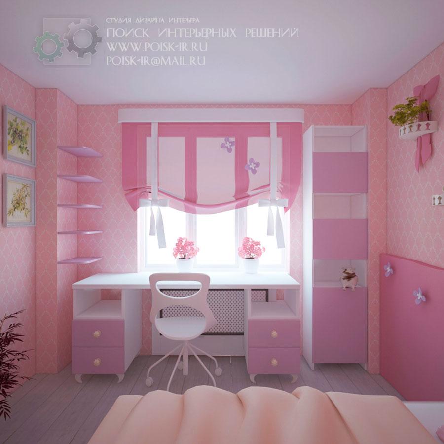 Дизайн детской комнаты 3 на 3 метра