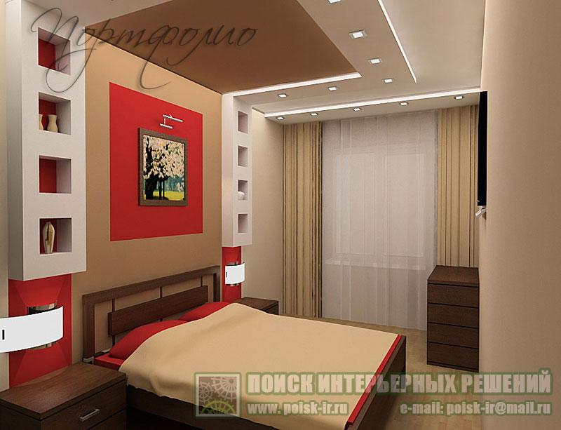Конструкции из гипсокартона фото спальня