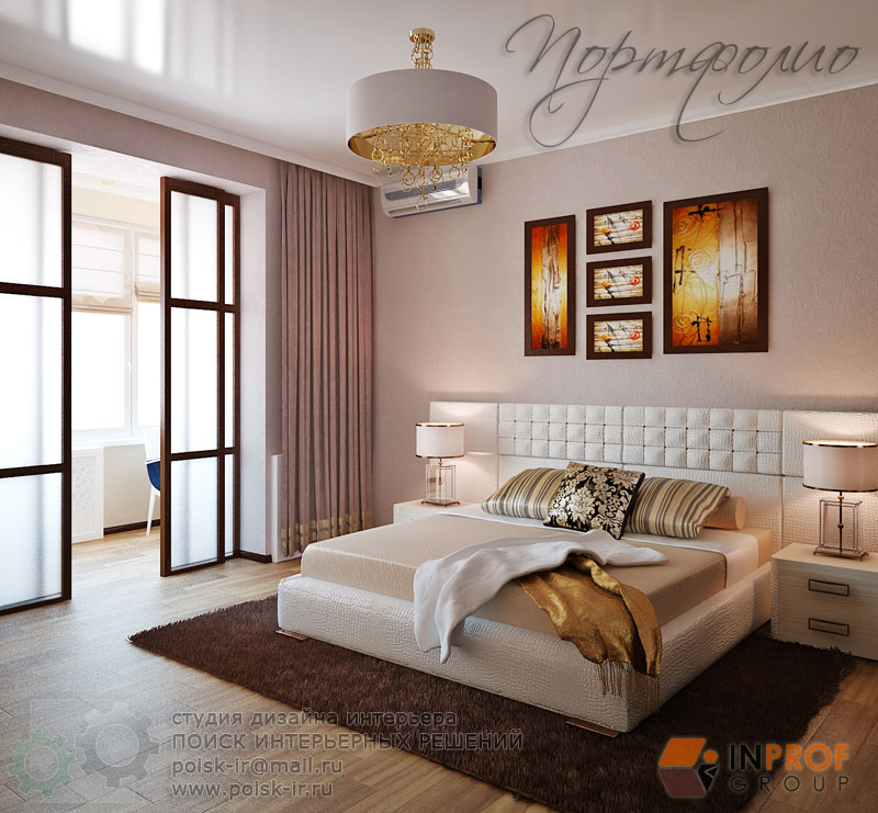 Светлый пол - дизайн интерьера спальни - стр. 4 (Четвертая).