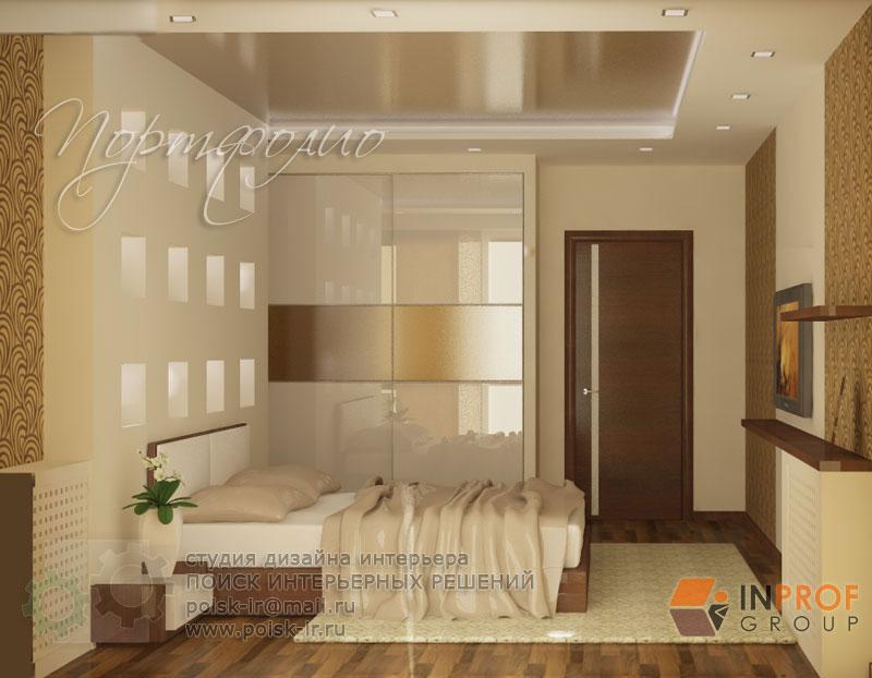 Дизайн комнаты 20 квм спальня с балконом.