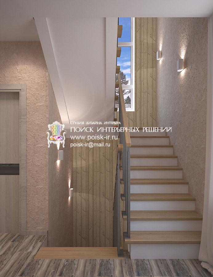 Фото дизайна лестничных проемов