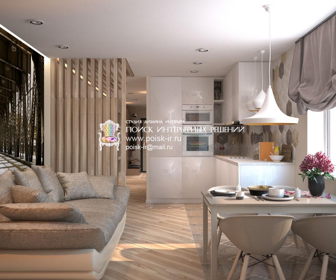 Дизайн кухня гостиная 2017-2018