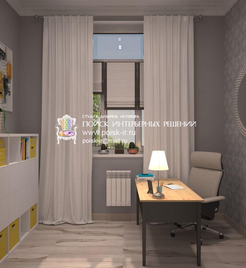 Дизайн кабинета для молодой женщины Современные идеи 93
