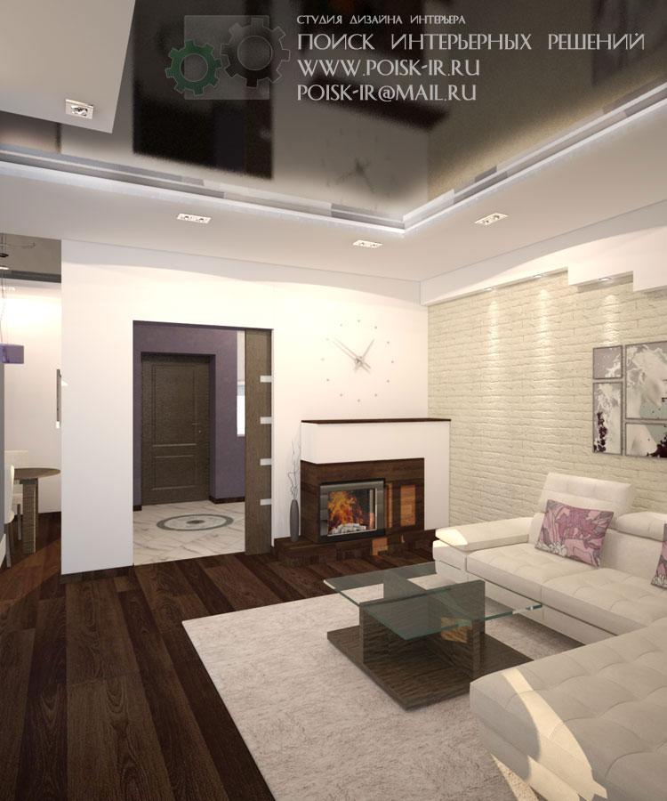 Темные полы в гостиной дизайн
