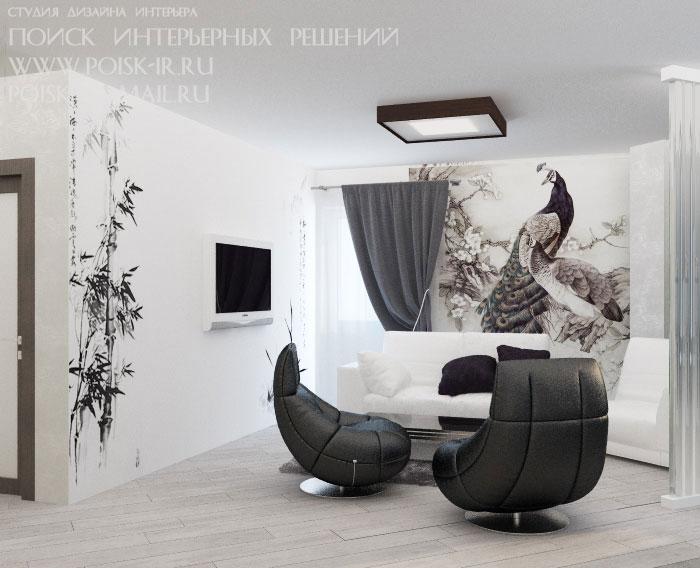Чёрно-белые картинки для интерьера