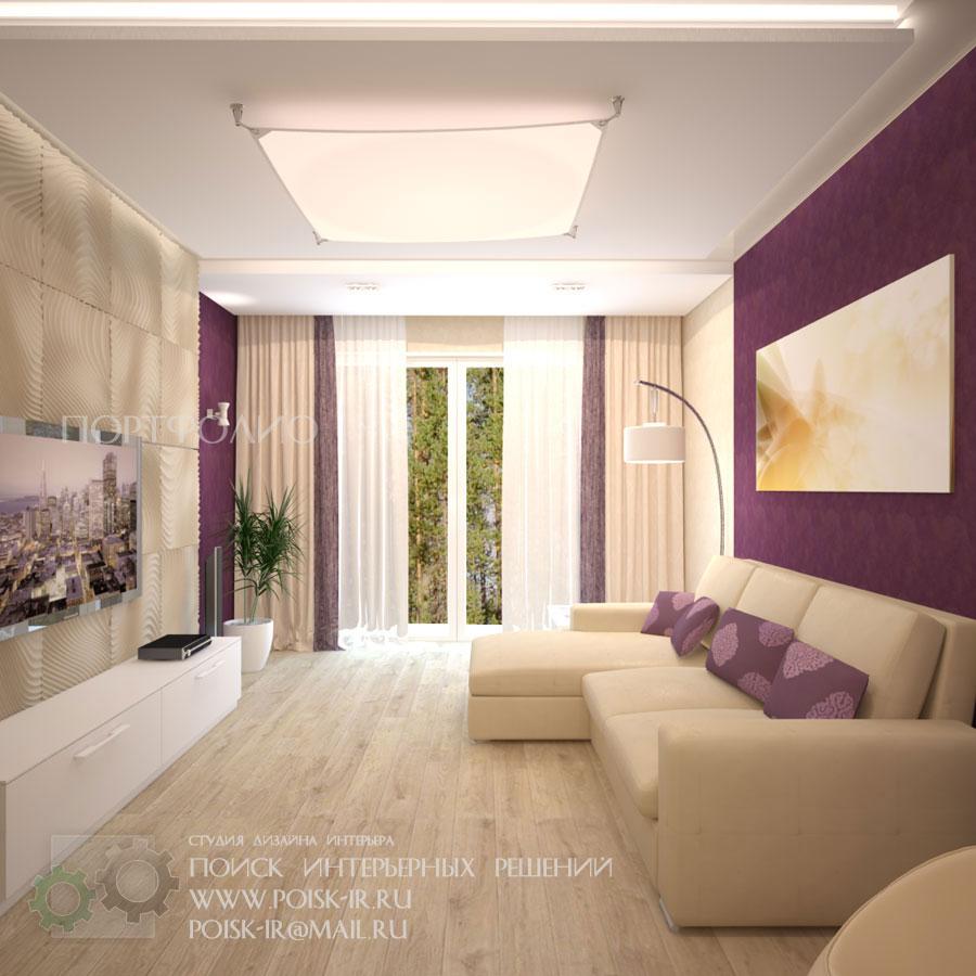 Светлая мебель интерьер гостиной фото