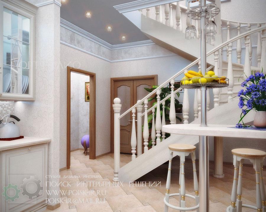 Фото лестниц на второй этаж в частном доме 27 фотография