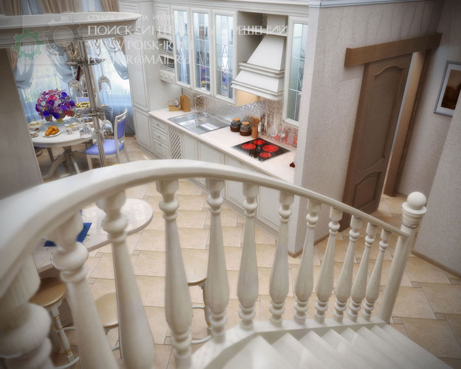Фото лестниц на второй этаж в частном доме 11 фотография