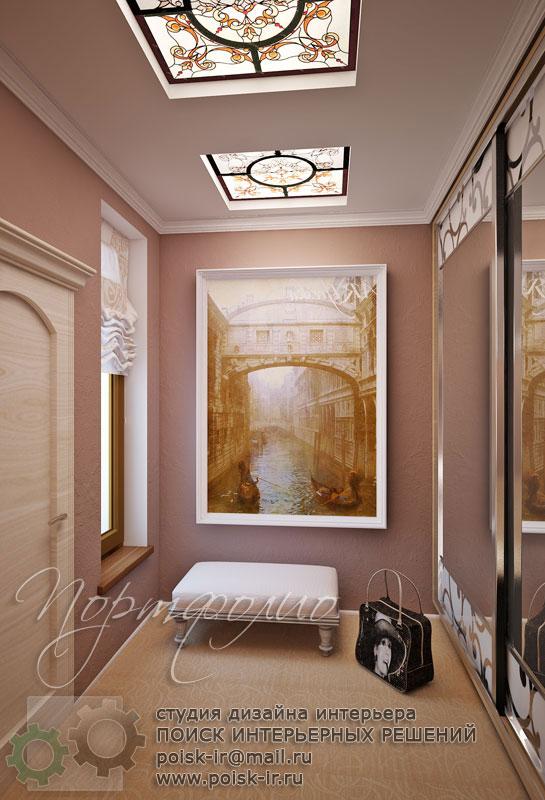 Фрески в интерьере коридора фото