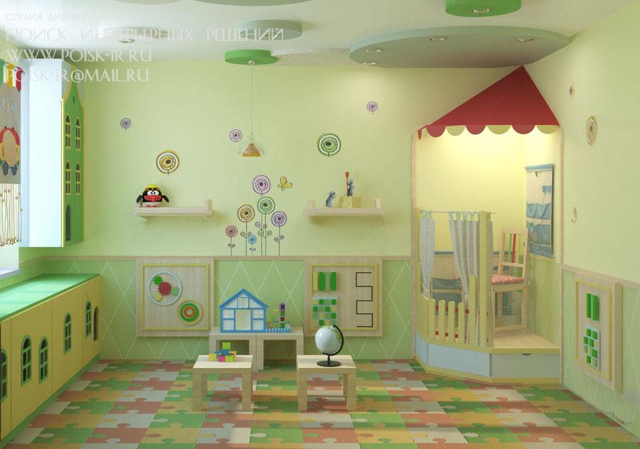 Детские сады - дизайн учебных центров - детсадов, школ, гимн.