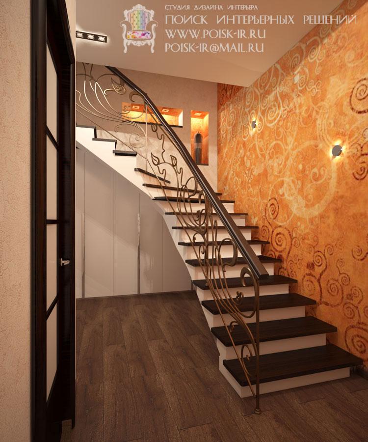 Лестница на второй этаж в частном доме видео своими руками 5