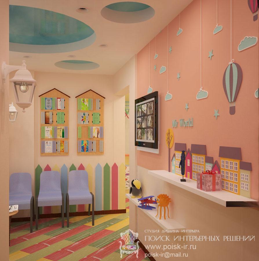 Дизайн детского кафе фотогалерея интерьера