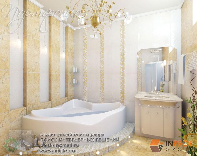 Керама марацци дизайн ванной с душевой кабиной