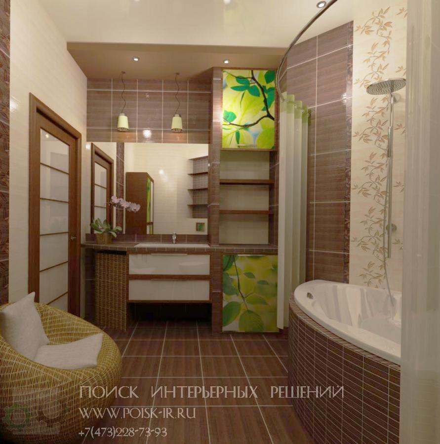Дизайн шкаф для ванной