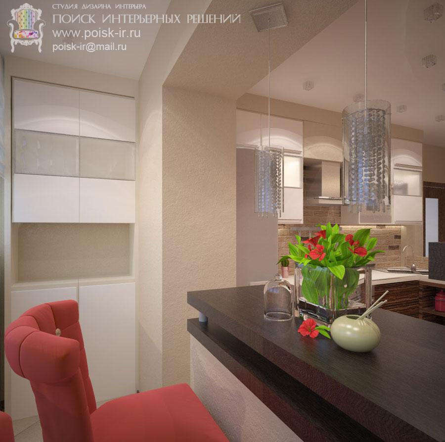 Светлый пол - дизайн интерьера кухни - стр. 4 (Четвертая).