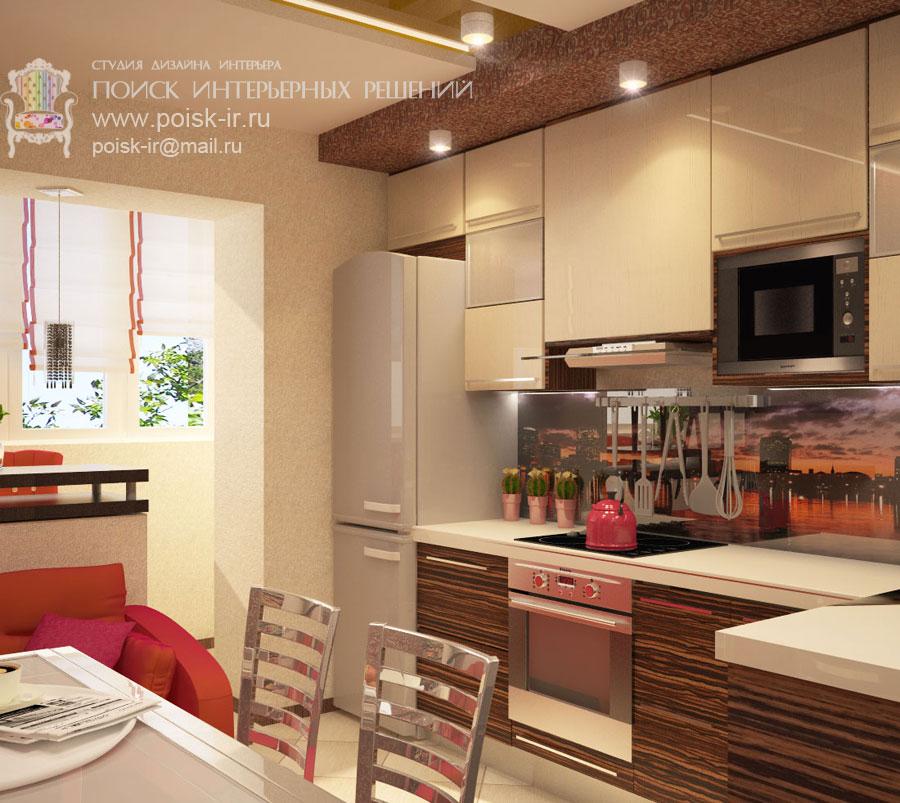 Квартиры - дизайн интерьера кухни - стр. 5 (пятая).