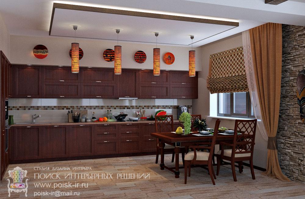Кухня в африканском стиле своими руками 43