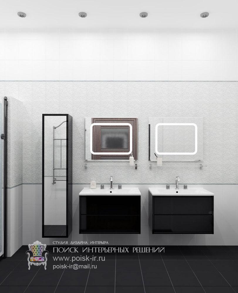 Ванные комнаты. Дизайн интерьера от