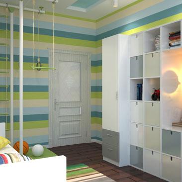 Интересные идеи дизайна детской комнаты для мальчика