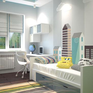 Дизайн детской комнаты – комната для мальчика