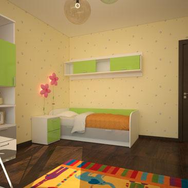 Детская комната с балконом фото