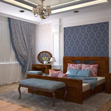 интерьер спальни классика фото