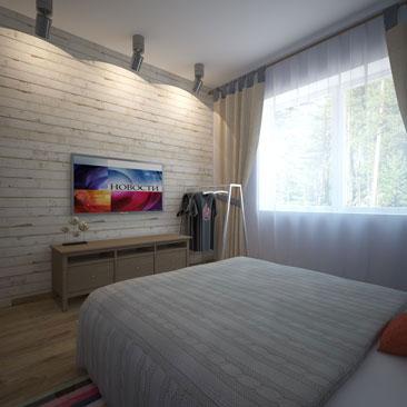 спальни в стиле лофт дизайн спальни лофт