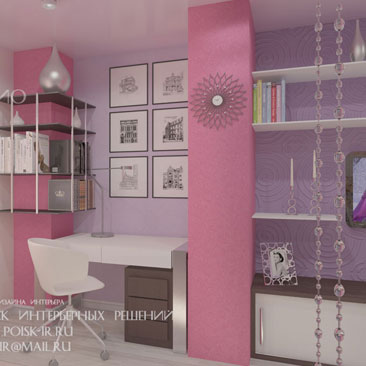 Дизайн детских комнат в фото галерее интерьеров.