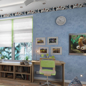 Проектирование интерьера детских комнат - готовые проекты, идеи и советы.