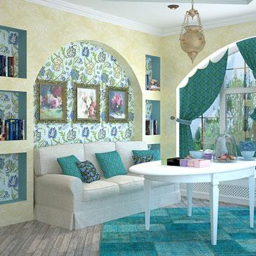 Дизайн интерьеров в Москве