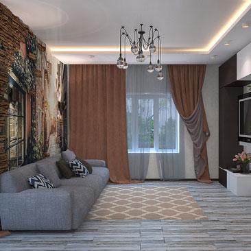 Сотни вариантов оформления интерьера гостиной, фото.