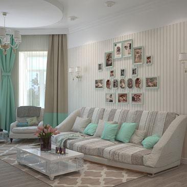 Интерьер и дизайн гостиной.